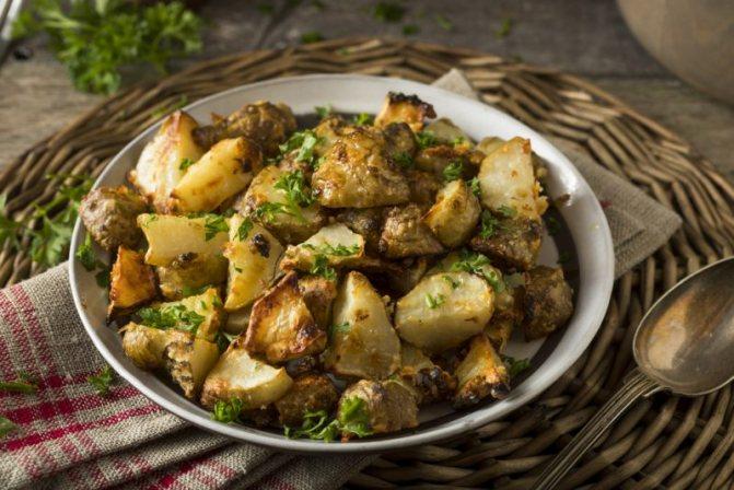 Рецепт гарнир из топинамбура