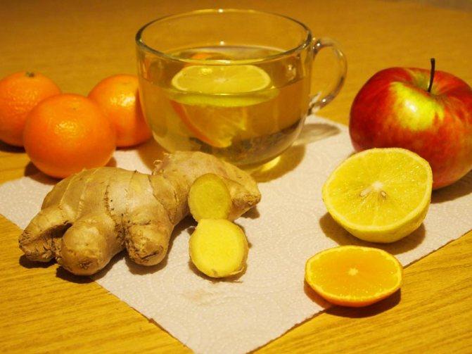 Рецепт лимон с имбирем
