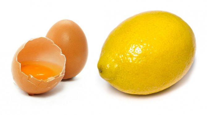 Рецепт яичного шампуня для волос с лимоном