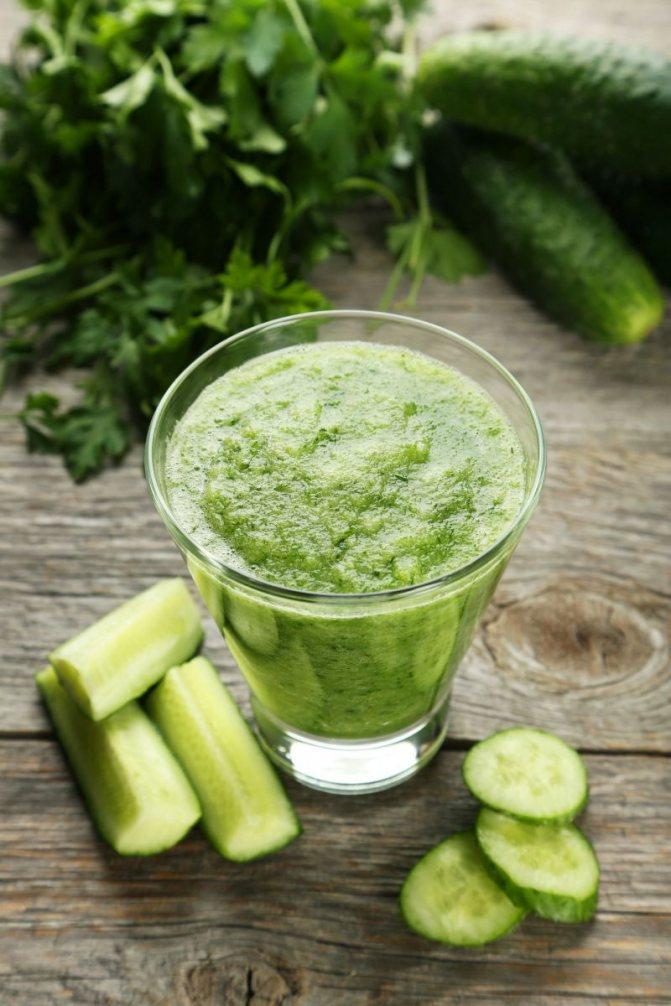 Рецепты детокс-соков: огуречно-капустный фреш
