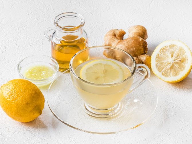 Рецепты имбирного чая