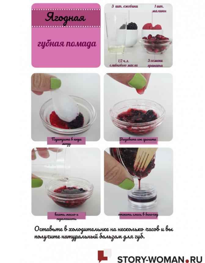 Рецепты натурального бальзама для губ