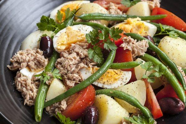 Рецепты простых картофельных салатов