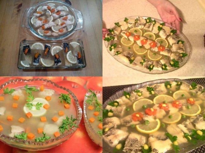 рецепты заливного из рыбы