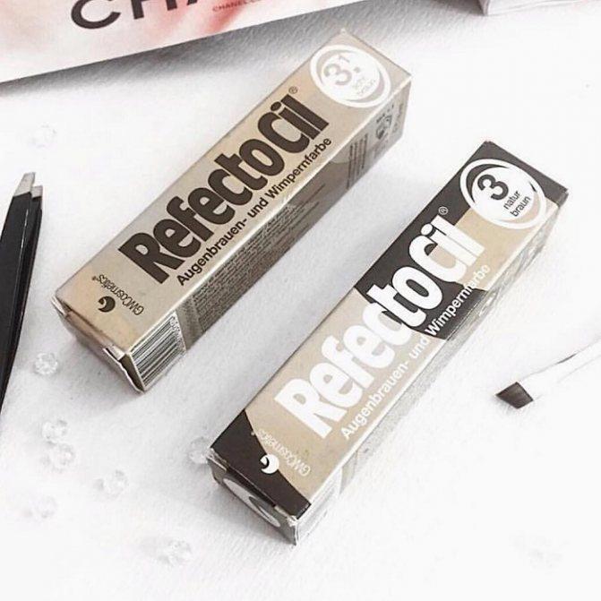 Refectocil - краска для бровей