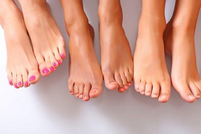 Рекомендации по уходу за ногтями на ногах