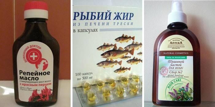 Репейное масло поможет при секущихся кончиках