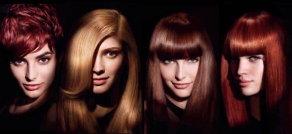 Результат окрашивания волос краской Matrix