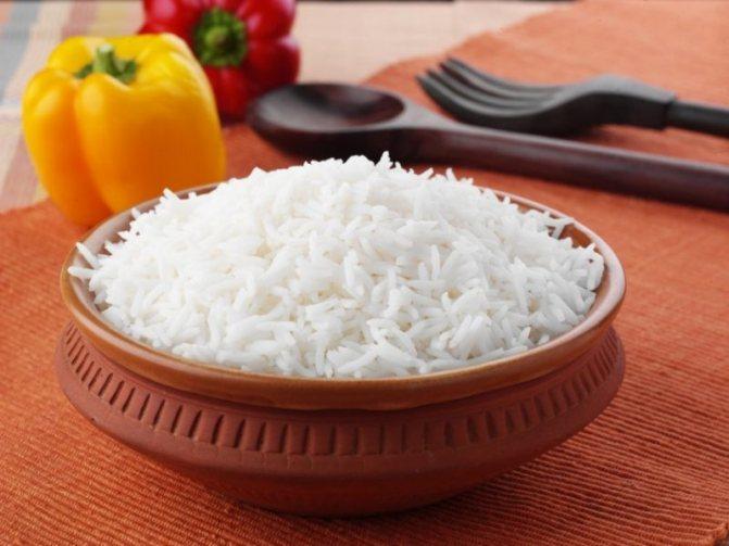 рис при диете для похудения - что нельзя есть
