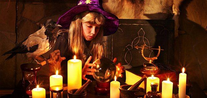Ритуалы на Хэллоуин