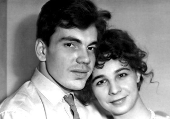 Родители Дмитрия Хворостовского в молодости