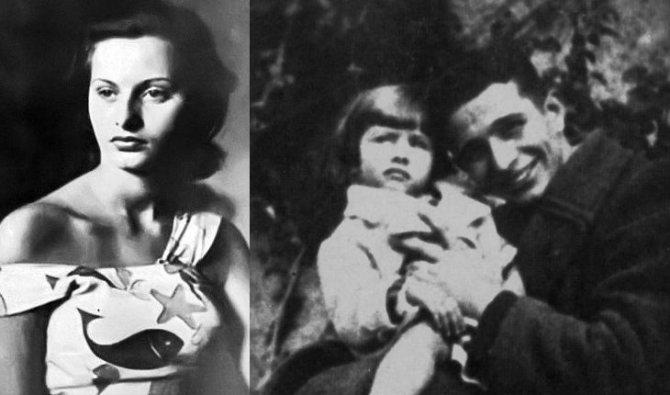 Родители Софи Лорен в молодости