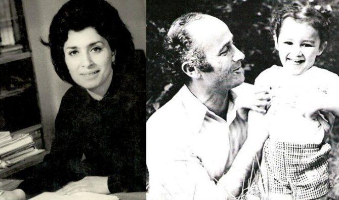 Родители Тины Канделаки: Эльвира Георгиевна и Гиви Шалвович