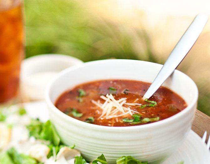 Роль супа в питании организма