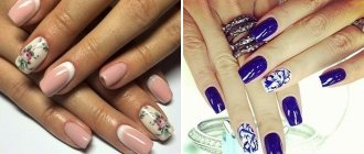 Роспись ногтей – 96 фото красивой художественной росписи на ногтях