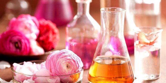 Роза в ароматерапии