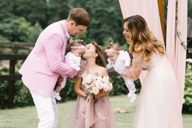 Розовая годовщина свадьбы