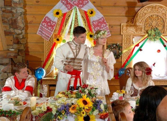 Русский свадебный обряд: традиции и творчество, фото № 1
