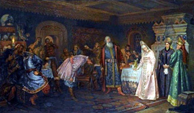Русский свадебный обряд: традиции и творчество, фото № 10
