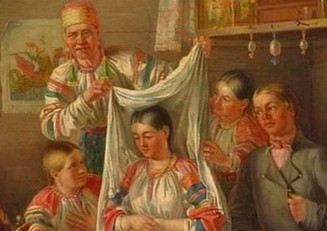 Русский свадебный обряд: традиции и творчество, фото № 12