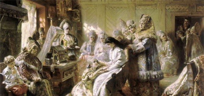 Русский свадебный обряд: традиции и творчество, фото № 13