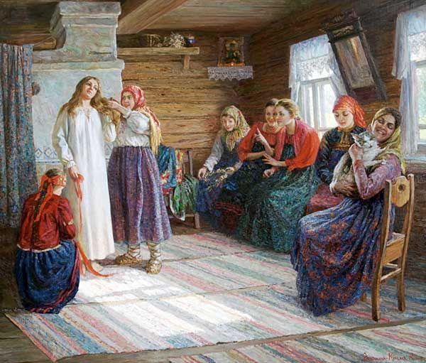 Русский свадебный обряд: традиции и творчество, фото № 14