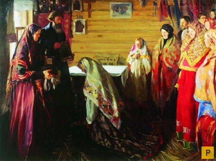 Русский свадебный обряд: традиции и творчество, фото № 16