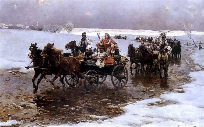 Русский свадебный обряд: традиции и творчество, фото № 17