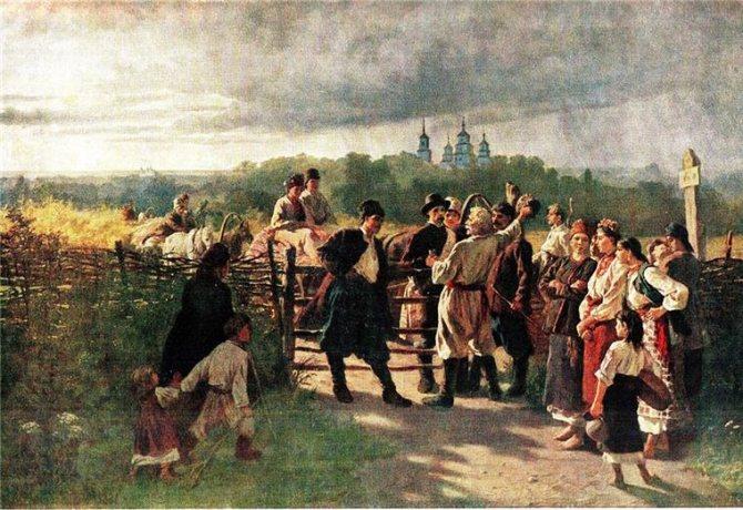 Русский свадебный обряд: традиции и творчество, фото № 19