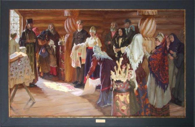 Русский свадебный обряд: традиции и творчество, фото № 22