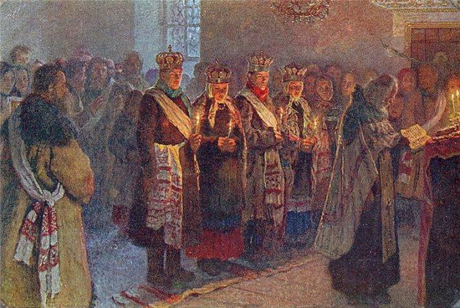 Русский свадебный обряд: традиции и творчество, фото № 23