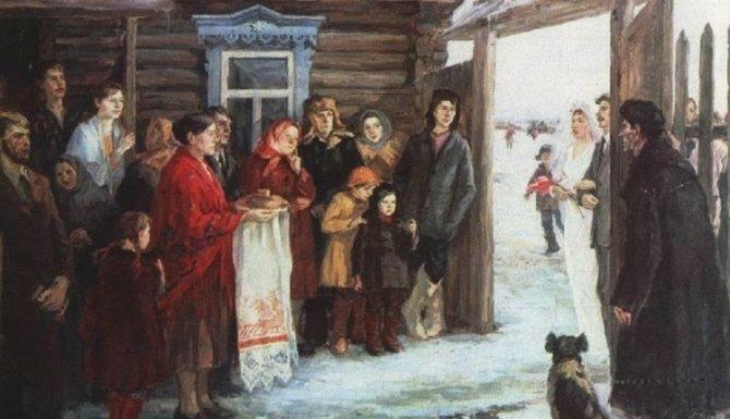 Русский свадебный обряд: традиции и творчество, фото № 24