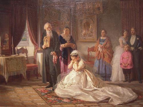 Русский свадебный обряд: традиции и творчество, фото № 31