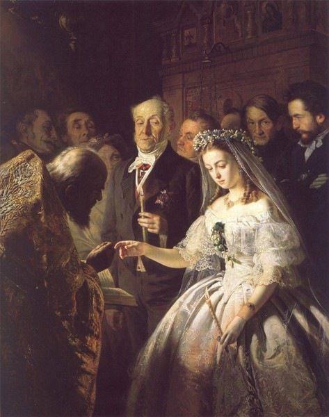 Русский свадебный обряд: традиции и творчество, фото № 34