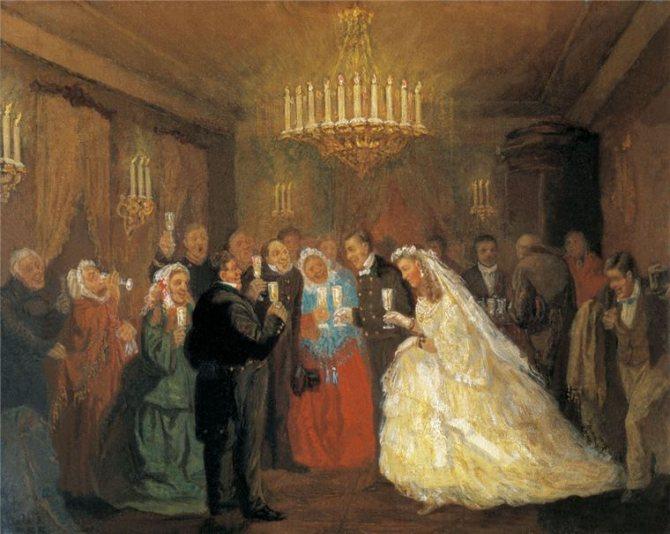 Русский свадебный обряд: традиции и творчество, фото № 35