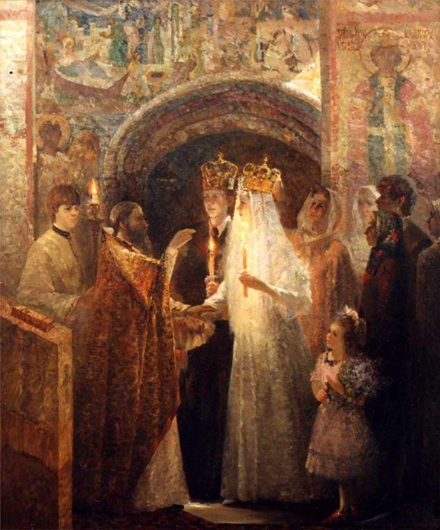 Русский свадебный обряд: традиции и творчество, фото № 38
