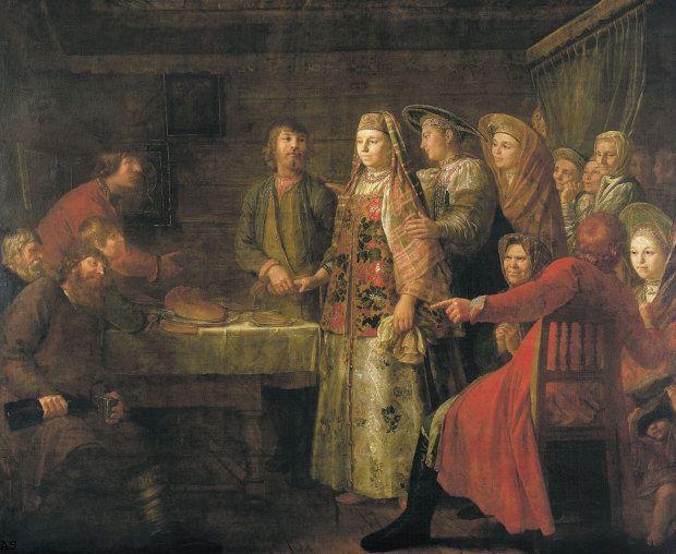 Русский свадебный обряд: традиции и творчество, фото № 5