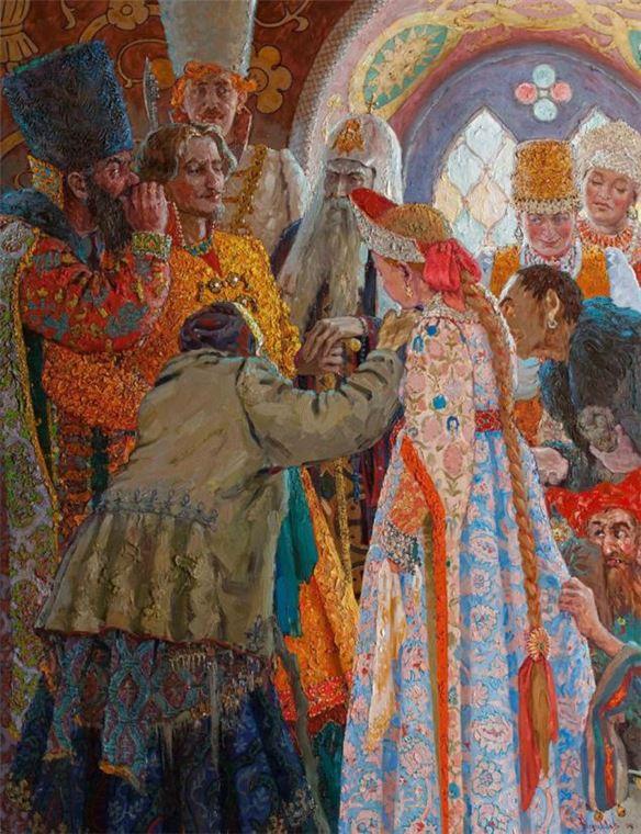 Русский свадебный обряд: традиции и творчество, фото № 7