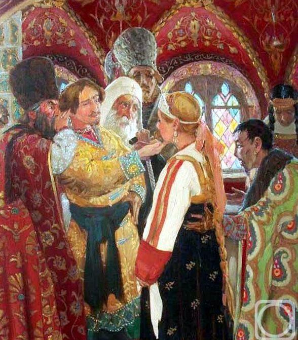 Русский свадебный обряд: традиции и творчество, фото № 8