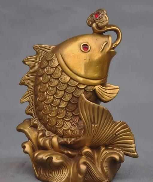 рыба фигурка символ достатка