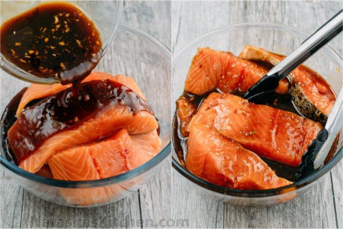 Рыба с соевым соусом