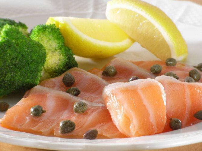 Рыба в лимонном соке