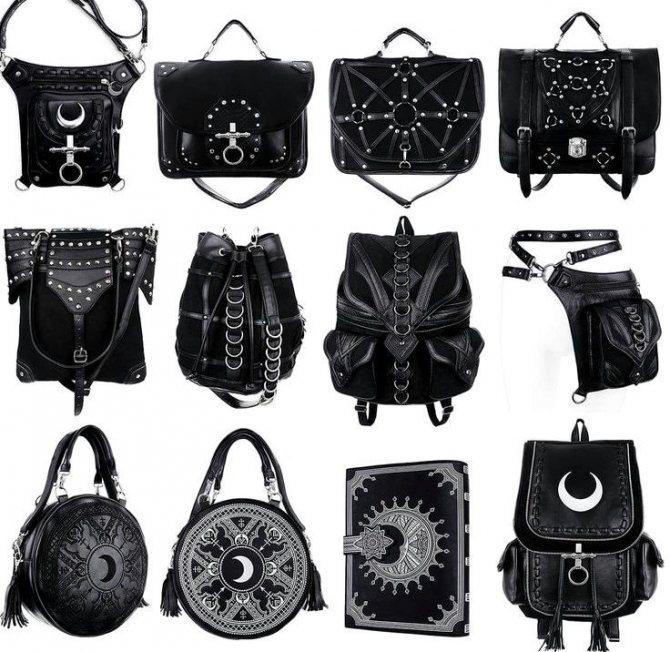Рюкзаки и сумки в стиле готика