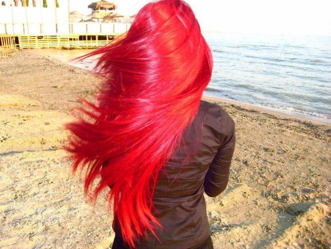 Рыжая краска для волос ESTEL