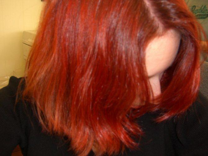 Рыжая краска для волос Loreal PRODIGY