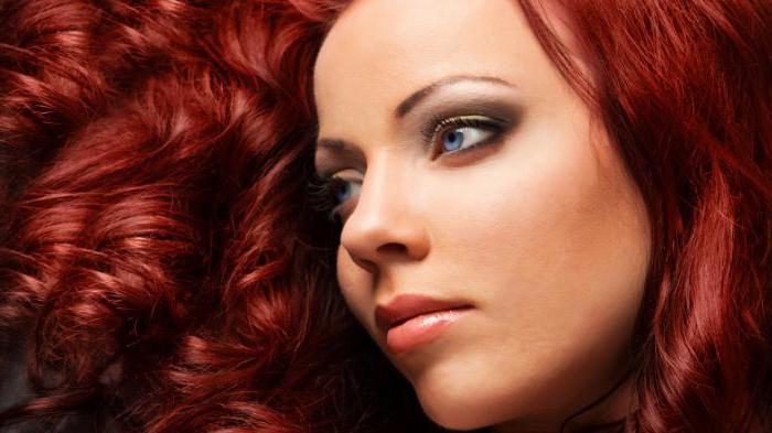 рыже коричневый цвет волос