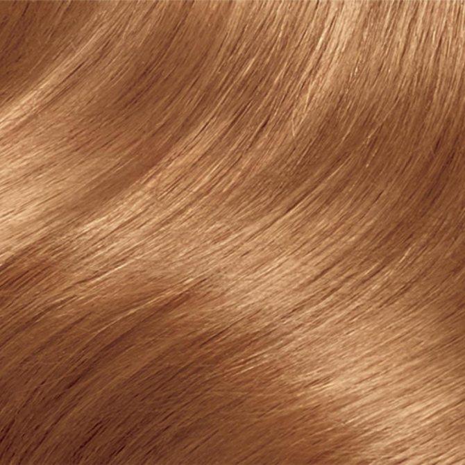 рыжий блонд