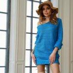 С чем носить платье-свитер – 40 фото стильных образов в платье-свитере