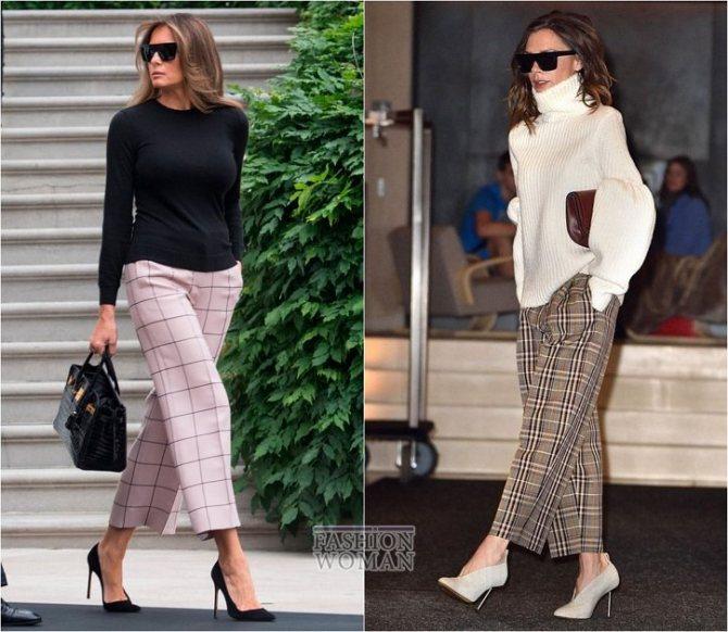 С чем носить широкие брюки: модные идеи на каждый день фото №16