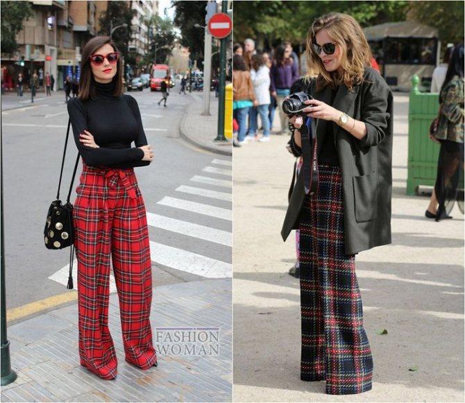 С чем носить широкие брюки: модные идеи на каждый день фото №17